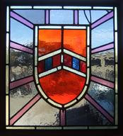 Coat of Arms Shield Stained Glass