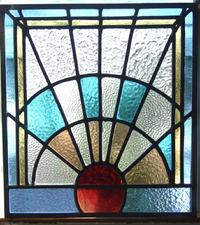 Art Deco Stainred Glass